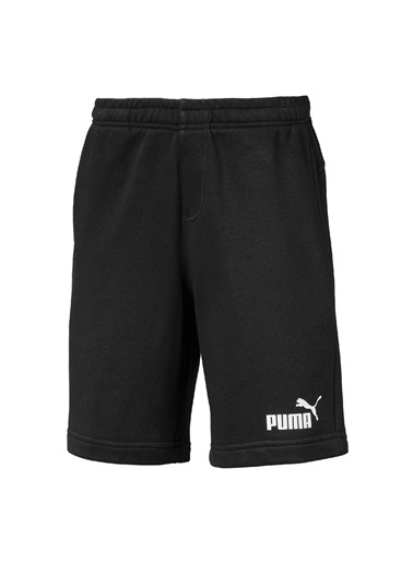 Puma Puma 85443801 Essentials Sweat Shorts Siyah Erkek Çocuk Eşofman Altı Siyah